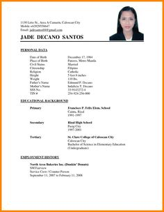 Example Of Simple Resume format Awesome Resume Examples Philippines Resume Ixiplay Free Resume Samples Simple Resume Sample Philippines Format Cv, Resume Format Free Download, Resume Format Examples, Simple Resume Format, Job Resume Format, Good Resume Examples, Cv Format For Job, Biodata Format Download, Resume Layout