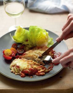 My chicken 'parma' recipe by Jane Kennedy | Cooked
