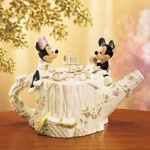 www.wardsgiftshop.comMickey and Minnie Teapot - 097680A - Mickey and Minnie - - Disney - Lenox Classics - Ward's Gifts