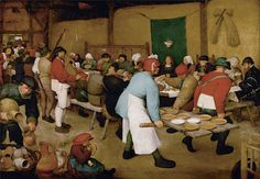 Pieter Bruegel The Elder Wedding Banquet Fine Art Reproduction Oil Painting