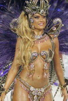 Ellen Roche. Brazil Carnival