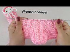 İnci Detaylı İki Şişle Buğday Başağı Desen Bebek Patiği Yapılışı/Knitting Baby Socks Booties DIY - YouTube Baby Booties Free Pattern, Baby Sweater Knitting Pattern, Sweater Knitting Patterns, Knitting Socks, Baby Socks, Baby Hats, Crochet Stitches, Knit Crochet, 123 Cross Stitch