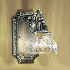 Found it at Wayfair - Majestic 1 Light Wall Sconce