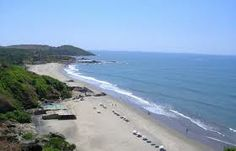 #Chapora_Beach is a very good place for those who have decided for a long-term stay in Goa.