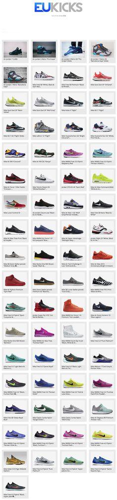 Nike.comEurope: 2015 Week 18 Releases