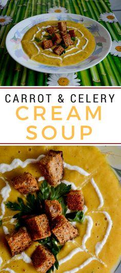 Carrot & Celery Cream Soup