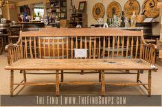 Antique Deacon's Bench