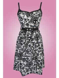 a68b83ba31 Emma Dress - Day Of The Dead Rockabilly Outfits, 1950s Fashion, Day Of The