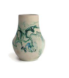 Nemadji Pottery Vase by FlumeStreet on Etsy, $41.00
