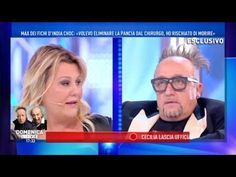 Max Cavallari a Domenica Live: «Mi hanno operato male, ora devono taglia...