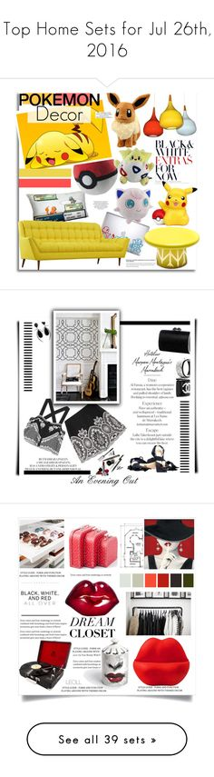 """""""Top Home Sets for Jul 26th, 2016"""" by polyvore ❤ liked on Polyvore featuring interior, interiors, interior design, home, home decor, interior decorating, Dot & Bo, D&Y, Bosa and Home"""