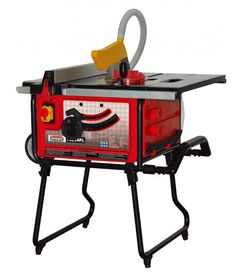Lumberjack Tools TS254PL - Table Saw with stand with built in dust extraction - Woodworking