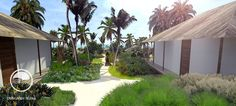 #landscape #architecture #garden #public #holiday #resort #bungalow #tanzania #zanzibar #zuri #path