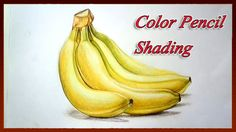 Realistic Color Pencil Drawing Tutorial How to Draw Fruits Easy - YouTube