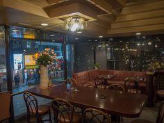 【ハイマート(池袋)】  池袋東口にあるレトロな大箱喫茶店。値段はリーズナブルだし、スペースは広く使えるし、大箱だからあまり気を使わなくて良いしと、とにかく「使いやすい」喫茶店です。