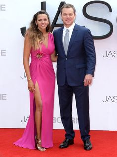 Pin for Later: Matt Damon Is Surrounded by Gorgeous Women at the UK Premiere of His New Film