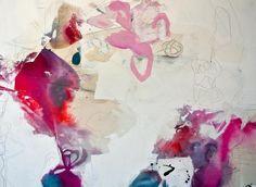 Melissa Herrington, 48x60  mixed media on canvas  2014