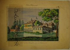 A Berlin WoolWork Architectural Pattern Produced By H.F.Müller ~ eBay.de