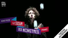 Étienne Saglio: Le Soir des Monstres (France) Dressed in a long black coat, this movie character unleashes his inner poet as he leads audiences into a stylized universe where even the most banal object is draped in wonder. This modern day magician and skilled illusionist fills his loneliness with funny, yet tender surprises as he refashions reality and trades the ordinary for the extraordinary.