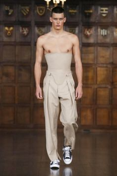 Re-see - Edward Crutchley @ London Menswear S/S 18 - SHOWstudio - The Home of Fashion Film and Live Fashion Broadcasting