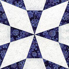 Joseph's Coat Quilt Block Pattern