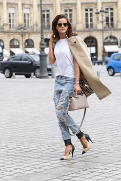 Izabel Goulart carries the new Fendi By The Way bag during Paris Fashion Week