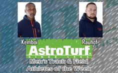 Clayton State's Kemboi, Rauhof Named PBC men's track AstroTurf Athletes of the Week
