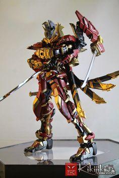 Custom Build: 1/100 Sengoku Astray-Nobunaga V2 - Gundam Kits Collection News and Reviews