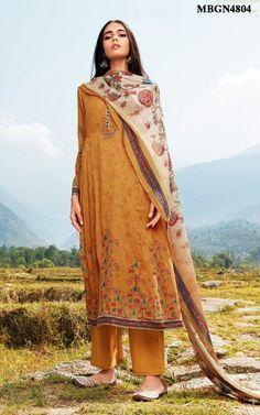 1f2b80767d Mustard Printed Salwar Suit Set Online Shopping For Ethnic Wear: Buy  Designer Sarees, Lehengas, Anarkali suits, Salwar Suits,Kurtis,Gowns –  Meenabazaar.com