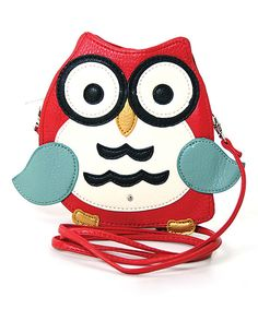 Look at this Red Owl Crossbody Bag on #zulily today!