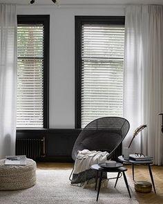Shutters, Ramen, Blinds, Sweet Home, Art Deco, Windows, Living Room, Interior Design, Inspiration