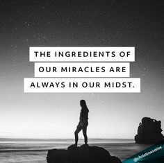 Jesus cannot multiply what we cannot recognize. The ingredients of our miracles are always in our midst.