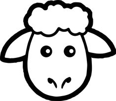 cool Sheep Face Coloring Page Eid Crafts, Farm Crafts, Decor Crafts, Crafts For Kids, Sheep Template, Face Template, Boy Coloring, Coloring Pages, Eid Stickers