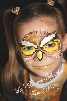 Vancouver Face Painting Owl Face Painting