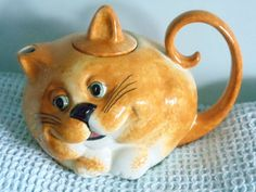 Carlton Ware Ginger Big Cat teapot | eBay