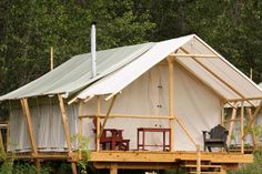 Glamping | Luxury Camping | Glamping in the West | Luxury Tent Camping, Idaho