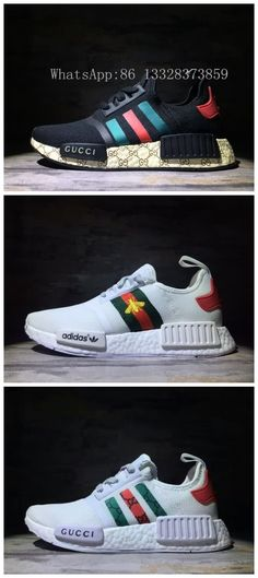 Adidas NMD Gucci Unisex shoes 36~45 WhatsApp:86 13328373859 WeChat:e2shoes