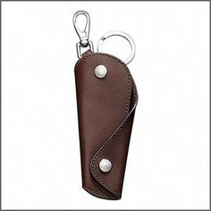 maybe my wife will buy this for me: leather Coach keycase key ring