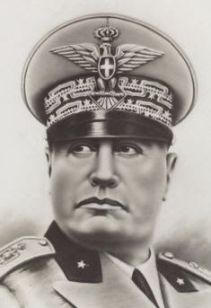 Photographic Print: Benito Mussolini by A. Historical Women, Historical Pictures, Great Man Theory, Italian Empire, Italian Army, Ww2 Propaganda Posters, History Facts, Ww2 History, Strange History