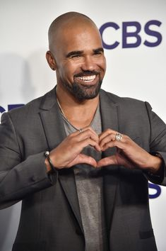 Shemar Moore Photos Photos - Shemar Moore attends the 2017 CBS Upfront on May 17, 2017 in New York City. - 2017 CBS Upfront