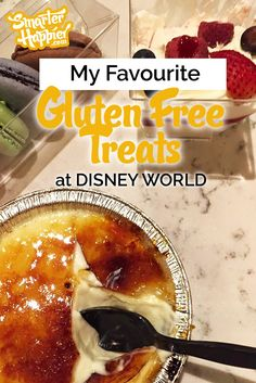 I'm going to make this short and sweet (mmmm.... sweet....). Here are my favourite Disney World gluten free treats - in no particular order.