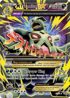 Tyranitar-EX | XY—Ancient Origins | TCG Card Database | Pokemon.com