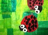 Artsonia Art Exhibit :: Eric Carle Ladybugs