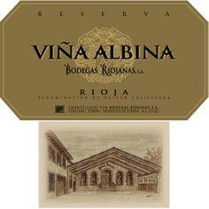 Vina Albina Reserva #Rioja #wine
