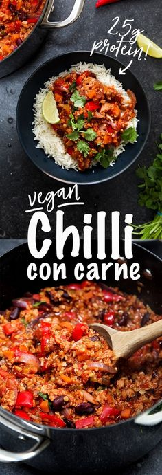 Easy Vegan Chilli Con Carne
