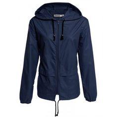 Women's Lightweight Waterproof Outdoor Hoodie Raincoat Cycling Running Sport Jacket