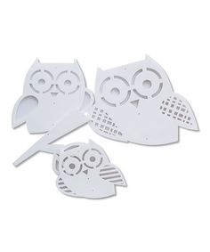 $29.99 Take a look at this Trendy Peas White Owl Mobile Kit by Forest Fun: Kids' Décor on #zulily today!