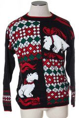 Dog ugly Christmas sweater from TheSweaterStore.com