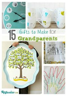 340 best gift ideas for the whole family images on pinterest art 15 thoughtful gifts to make for grandparents solutioingenieria Image collections