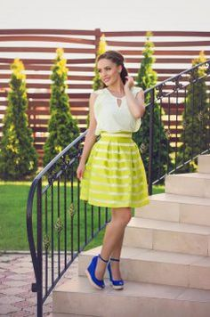 Fusta LaDonna Fashion Key Green